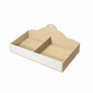Caja de madera Ranurada